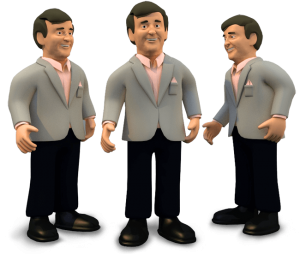 3D Terry Wogan
