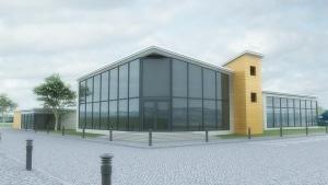 3D building visualisation render