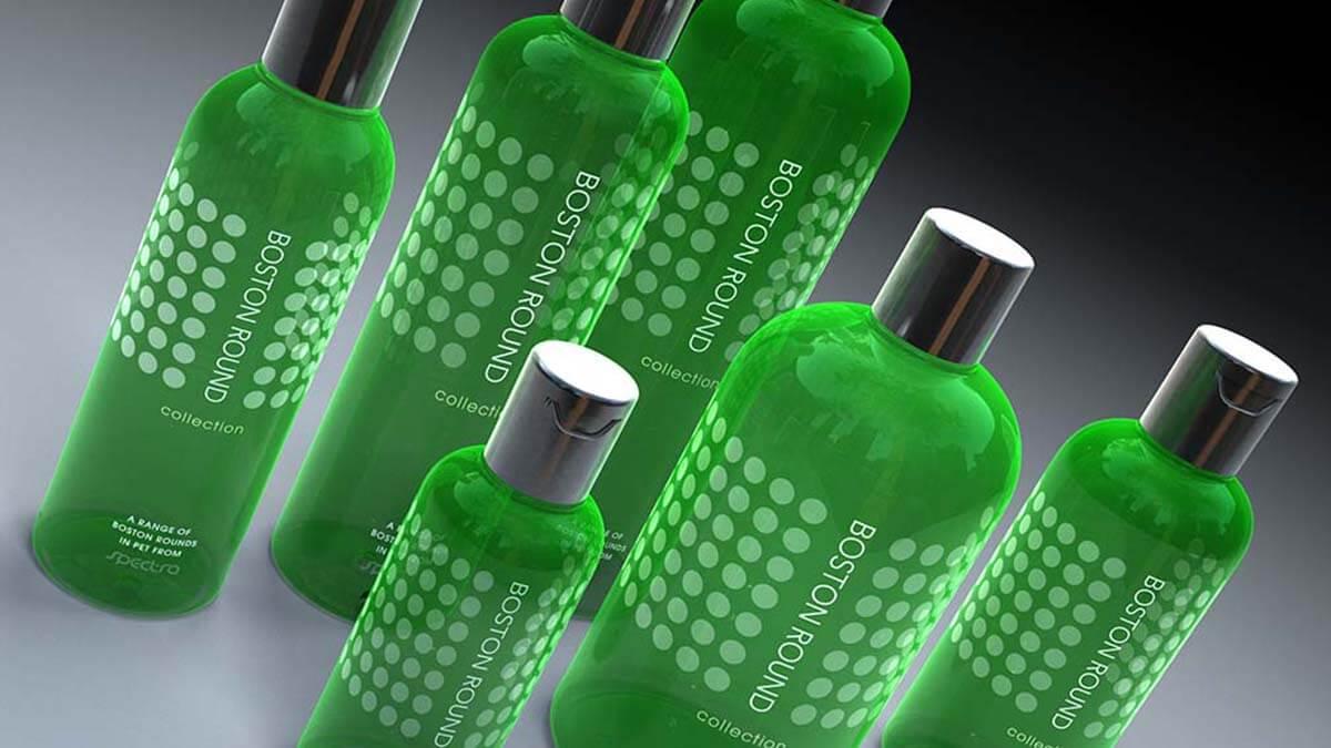3D product visualisation bottle render