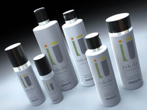 3D product visualisation bottle tubular designer
