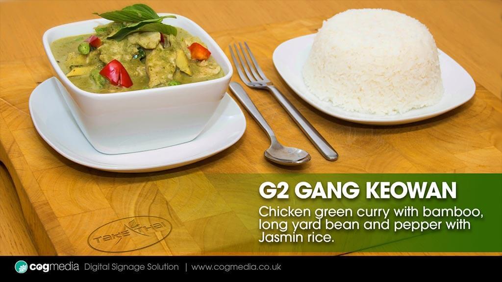 Digital Advertising Take Thai Food