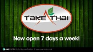 Digital Signage Take Thai