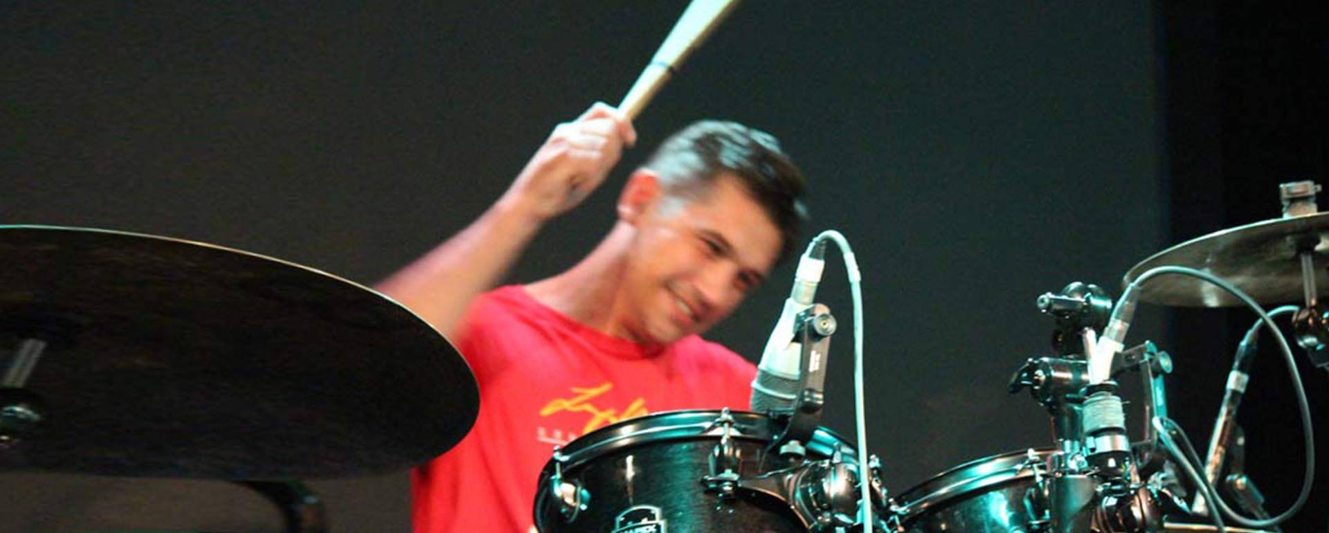 Lee Tallowin Drumming Event Photography