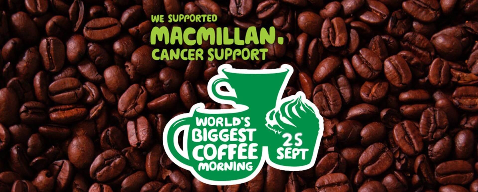 MacMillan Coffee Morning 2015