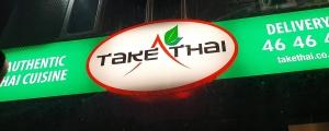 Mouth watering Take Thai Menu update