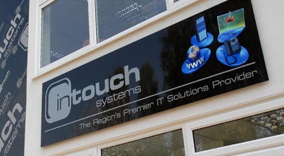 Norwich Building Signage Design