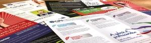 Norwich Leaflet and Menu Design