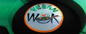 Norwich Vegan Takeaway Vegan Wok Logo Embroidery