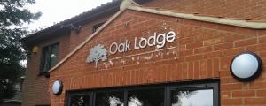Oak Lodge Office Space Signage Design