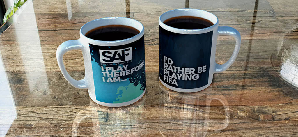 Serious About FIFA Mug Designs