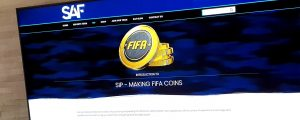 Serious About FIFA Website and Brand Development