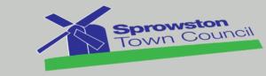 Sprowston Town Council Logo Design