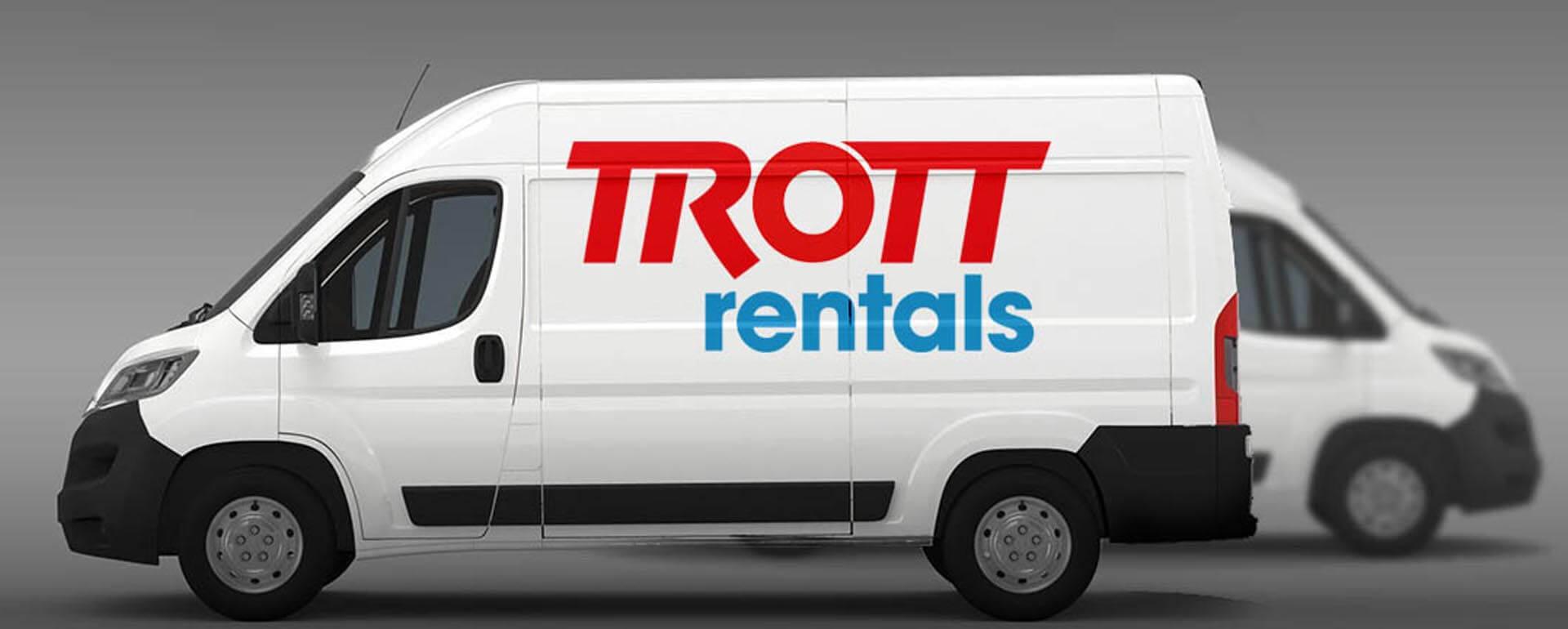 Trott Rental New Logo Design