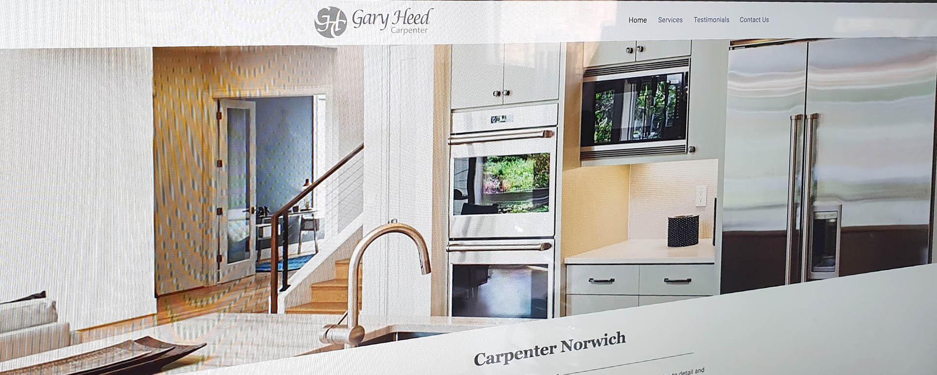 Web site Design Carpenter Norwich