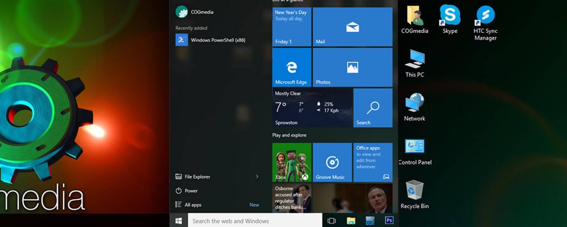 Windows 10 Start menu working fix